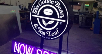 The Coffee Bean - Neon Sign