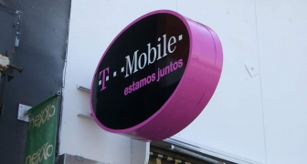 T-Mobile Projecting Sign