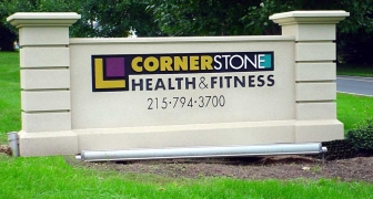 Cornerstone Monument Sign