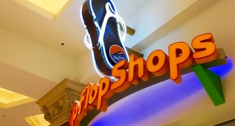 Flip Flop Shops Wall sign