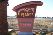 Kids Planet Stocco Monument Sign