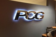 PCG office sign