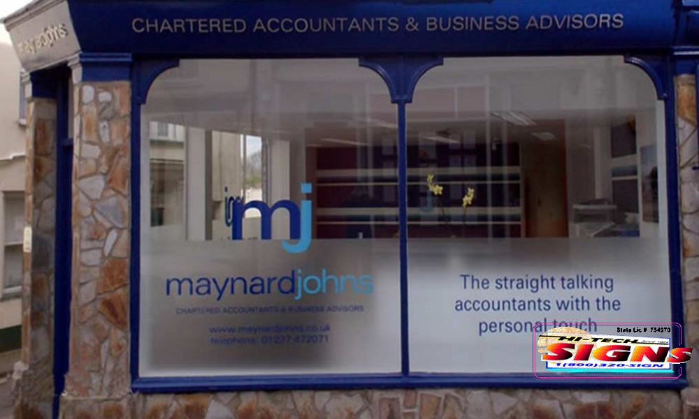 Sign Company Sign Company Window Signs For Your Business
